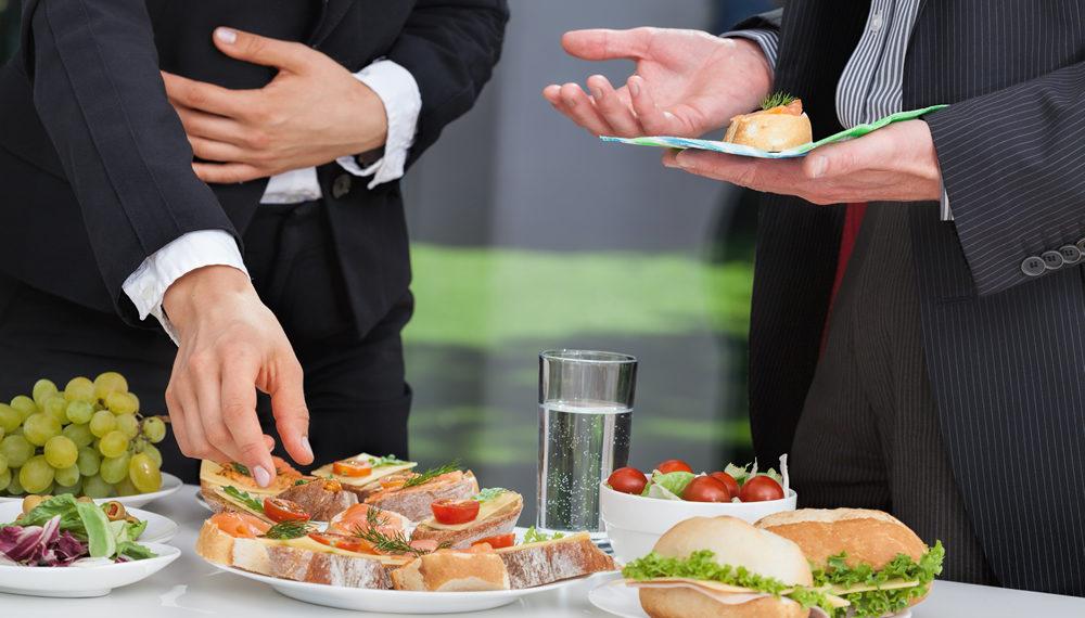 Ontbijt, lunch en vergaderingen